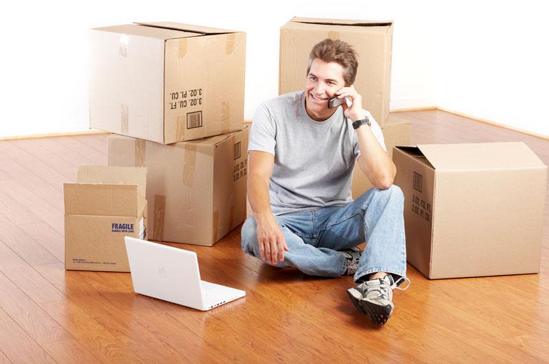 Aan het verhuizen en zaken regelen