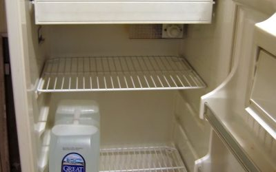 Een koelkast verhuizen